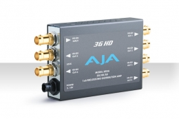 AJA 3GDA HD/SD SDI Reclocking Distribution Amplifier