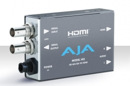 AJA Hi5 HD-SDI/SDI to HDMI Video and Audio Mini Converter