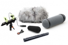 DPA 4017 Shotgun Microphone with Rycote Windshield