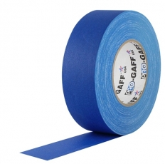 "Visual Departures Professional Gaffer Tape, 2"" x 55 Yards, Electric Blue"